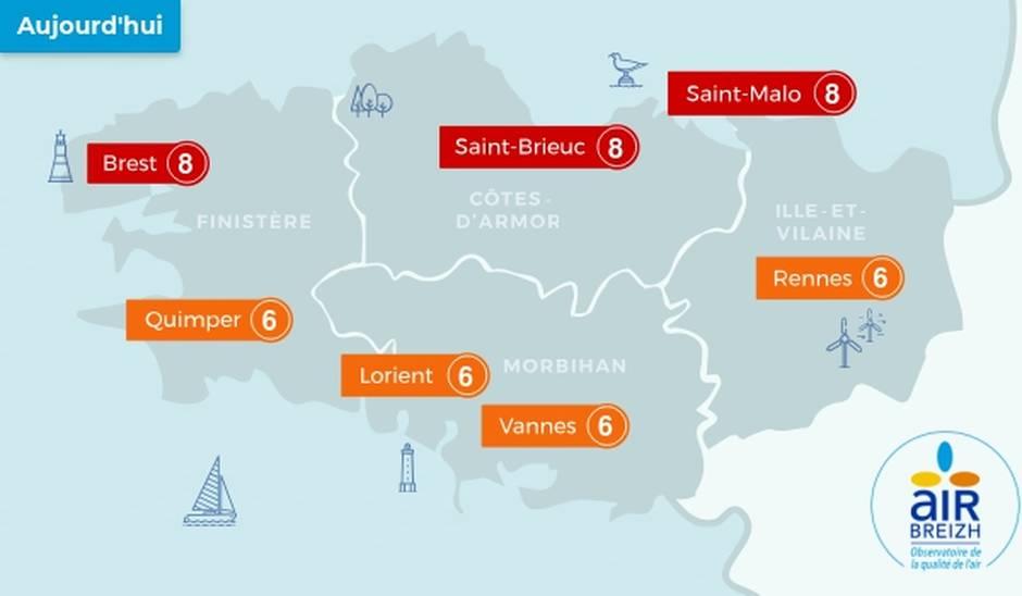 Pic de pollution de l'air en Bretagne: le rôle de l'élevage oublié!