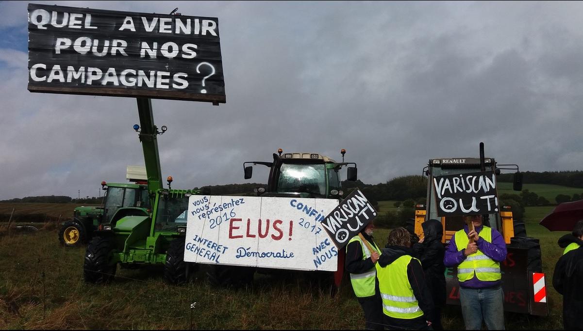 Entretien d'Eau & Rivières avec le Député J. Pahun à Auray [08/01/2018]