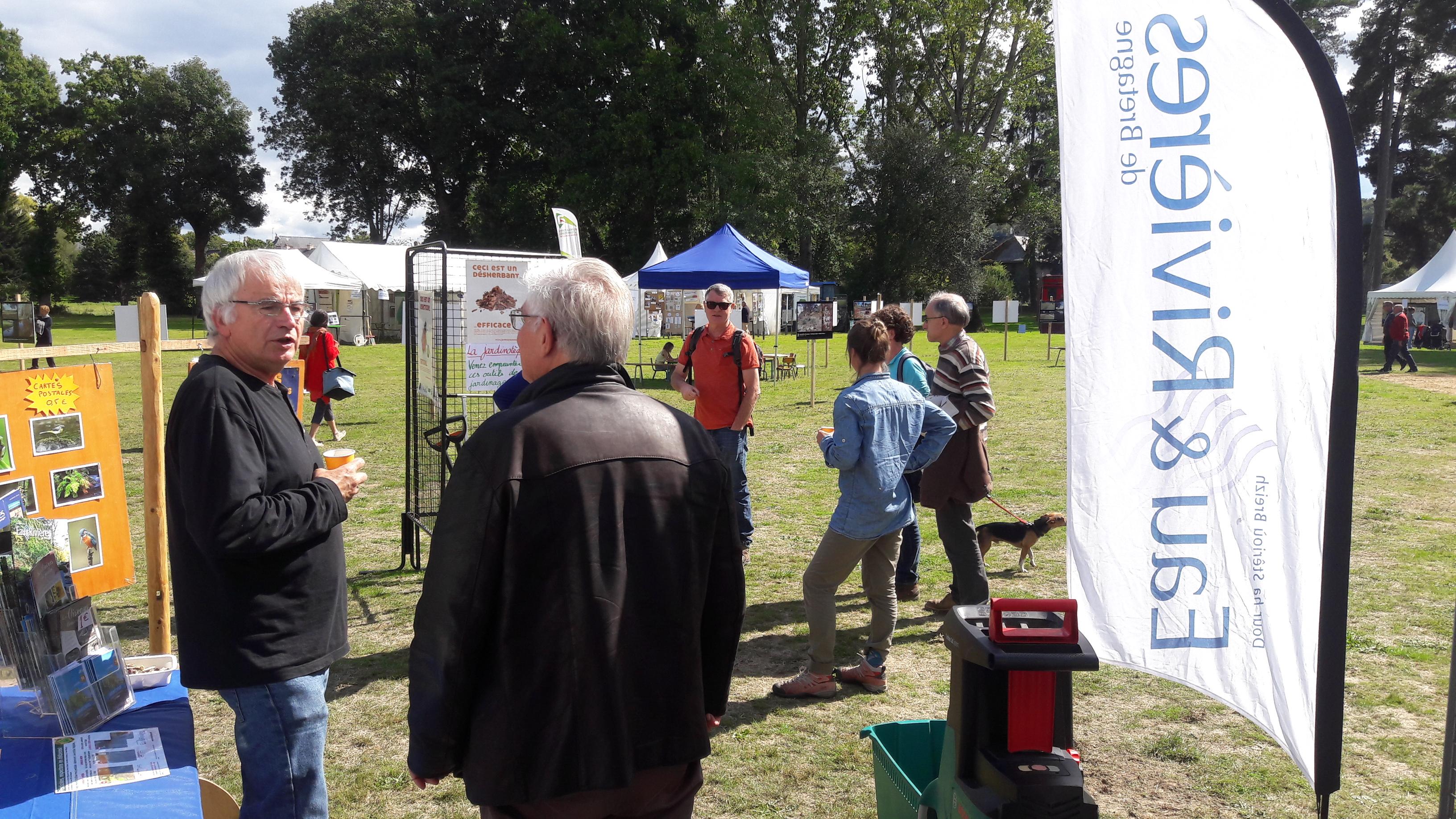 Fête de l'eau à Malestroit: de l'eau et des outils! [16/09/2017]
