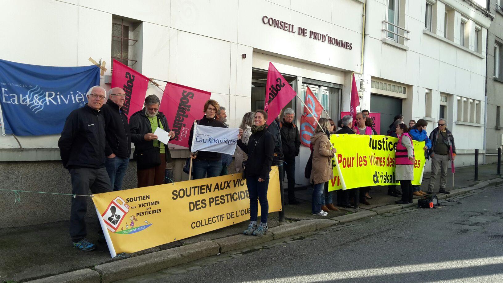 Salariés de TRISKALIA: l'audience de Lorient  [22/09/2017]