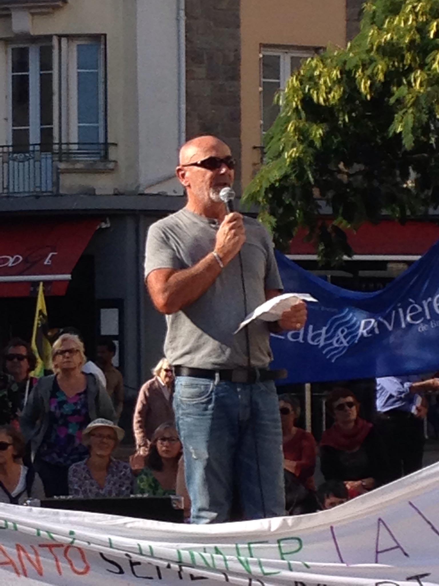 Rassemblement contre le Glyphosate à Lorient [14/10/2017]
