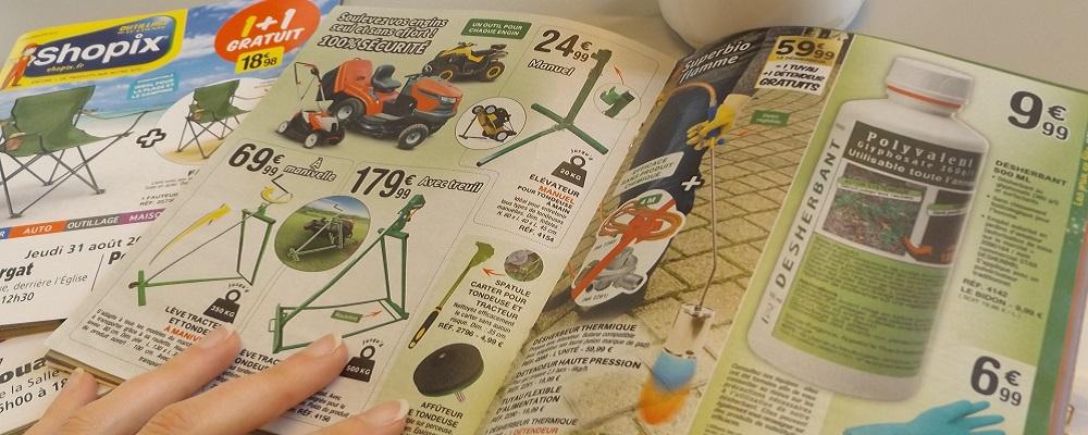 Glyphosate: un catalogue commercial c'est bien de la publicité [25/10/18]