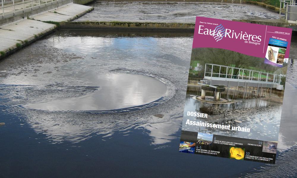 Assainissement urbain : un dossier à lire dans notre magazine n°184 [19/07/2018]