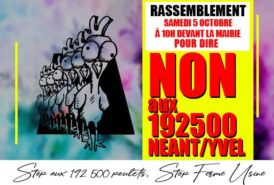 Néant-sur-Yvel, un projet avicole trop hors sol