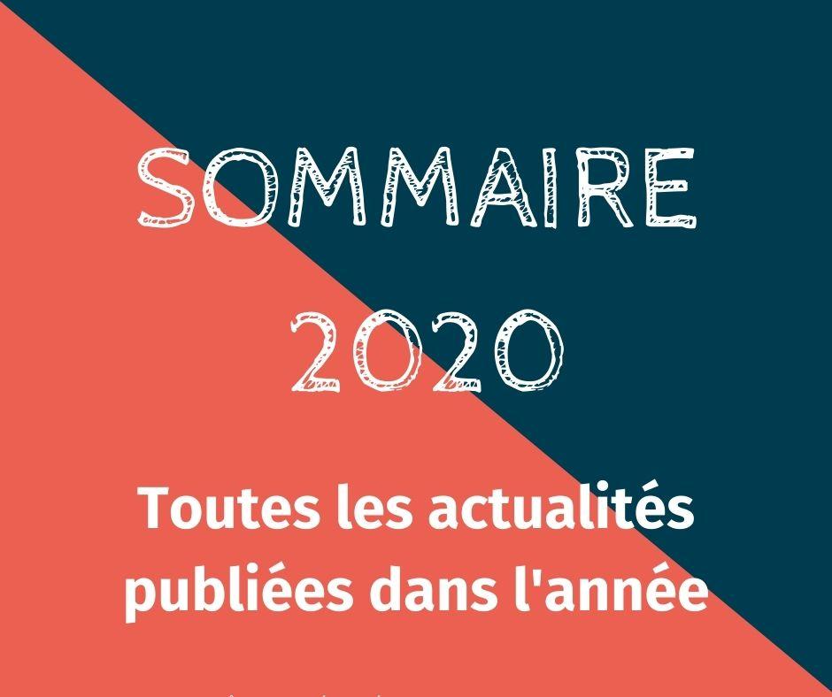Sommaire actus 2020