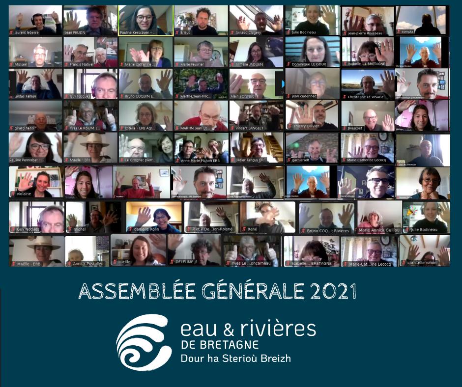 Vidéo | Revivez notre assemblée générale 2021