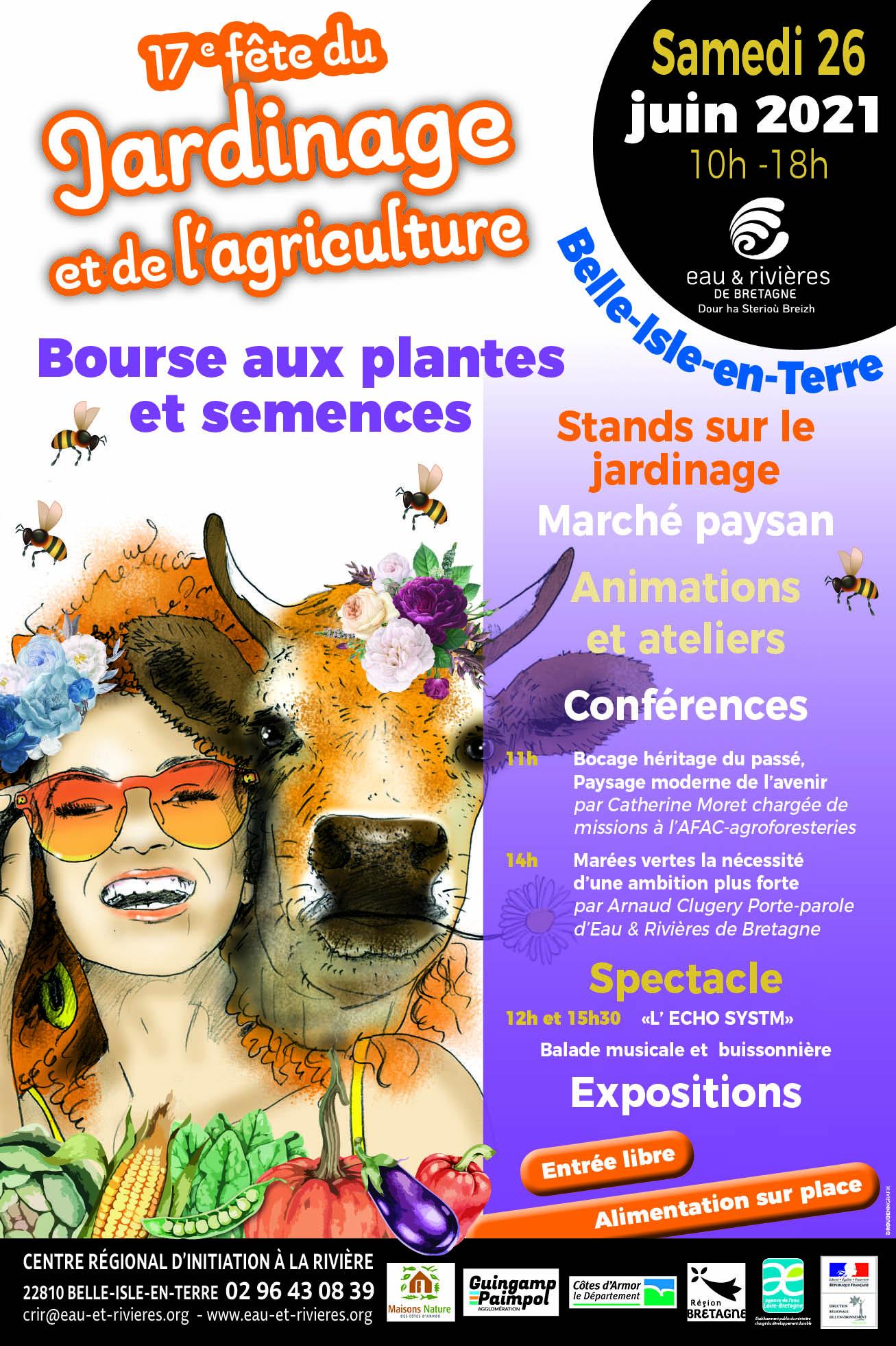 Participez à la Fête du jardinage et de l'agriculture