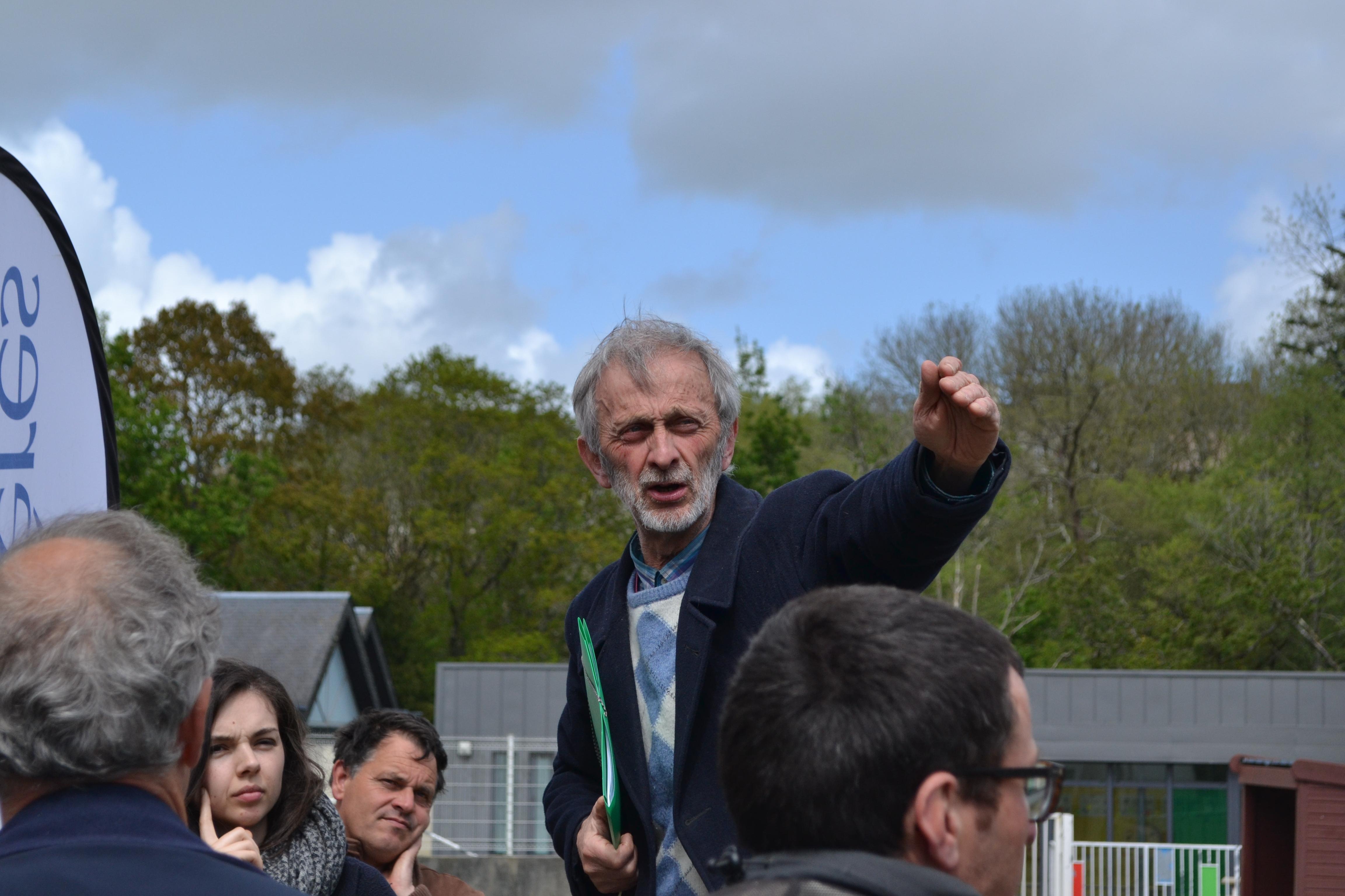 Jean-Yves Kermarrec raconte cinquante ans de lutte sur l'Elorn