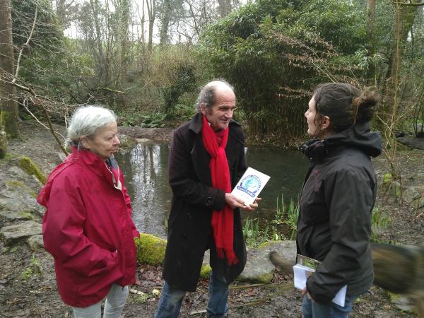 Vidéo | L'incroyable refuge grenouilles d'Anita et Jean-Luc
