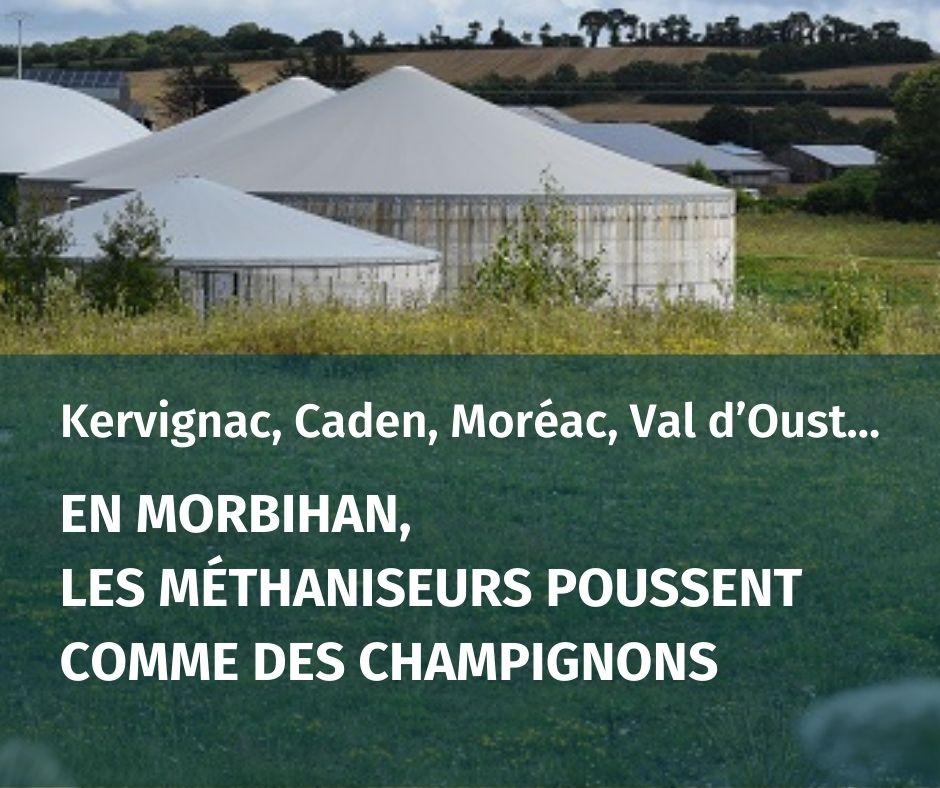 Méthanisation | Pour un moratoire en Morbihan