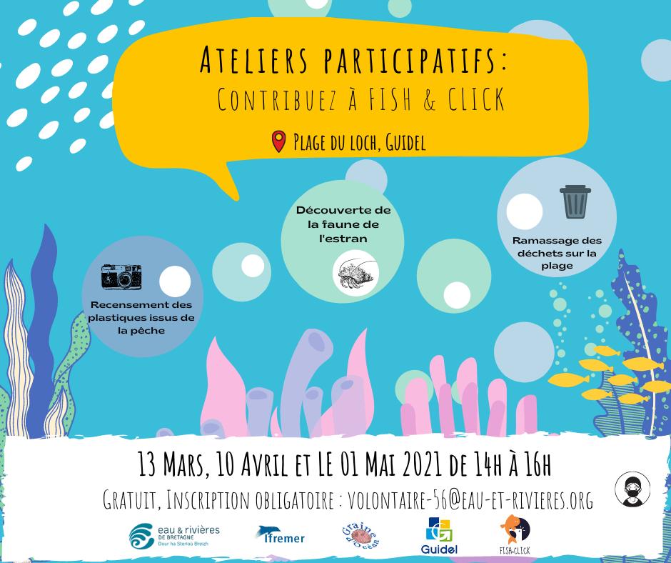 Ateliers participatifs : contribuez à Fish&click