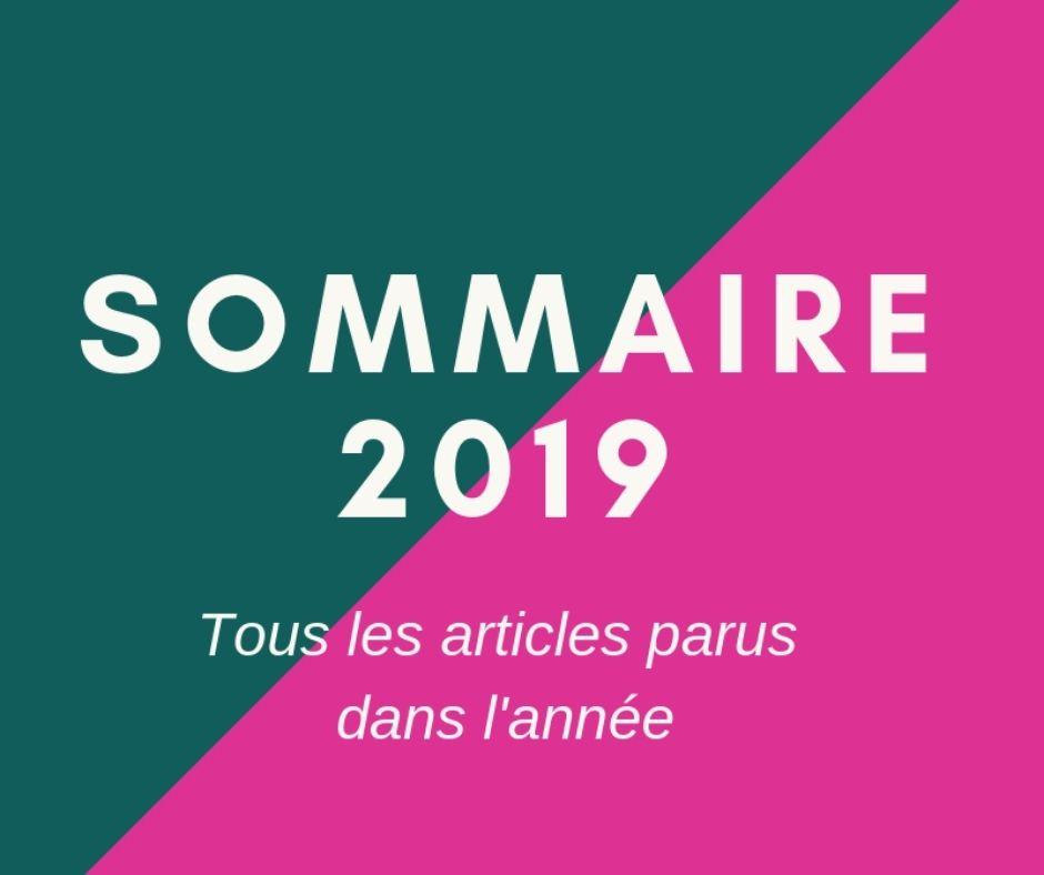 Sommaire actus 2019