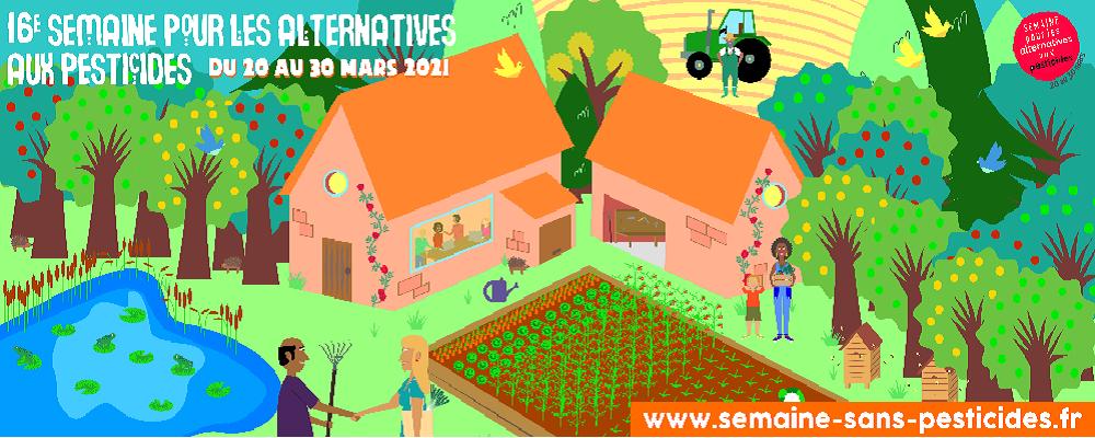 C'est la semaine pour les alternatives aux pesticides !