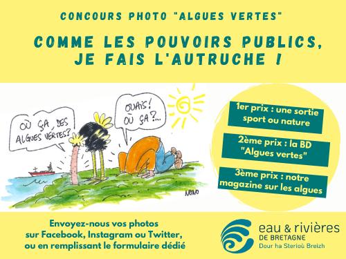 Concours | Envoyez-nous vos plus belles photos d'autruche