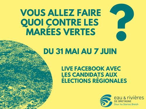 Algues vertes | Posez vos questions aux candidats des régionales