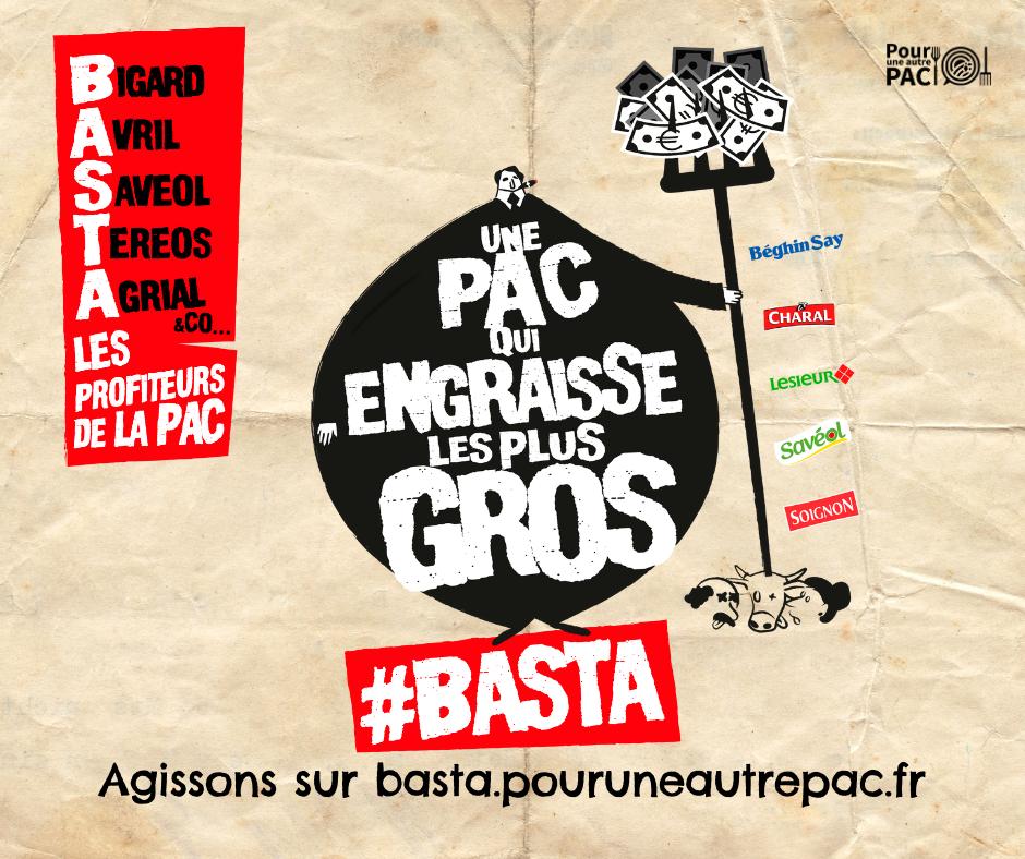 Basta, les profiteurs de la Pac !