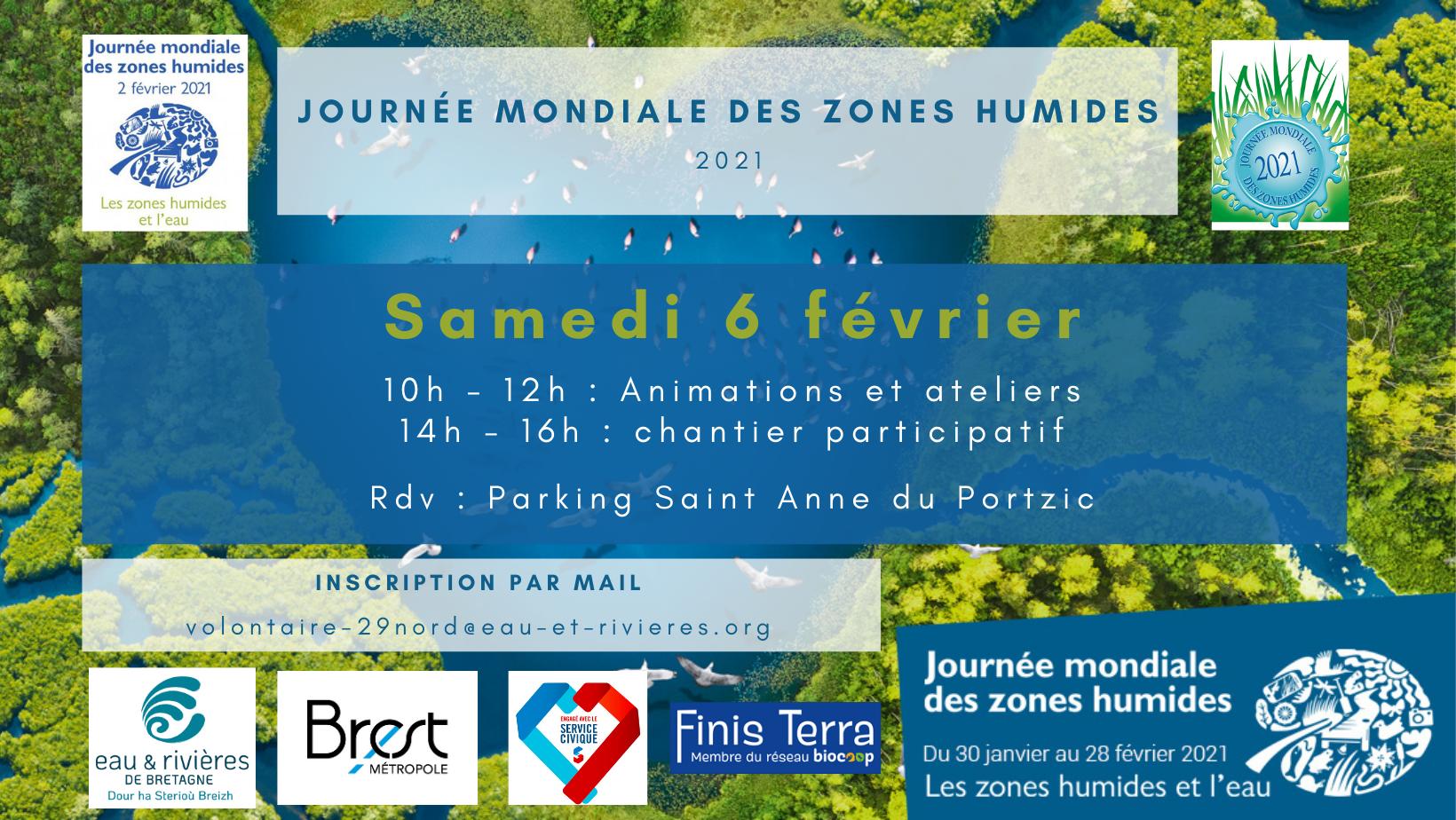 Journée mondiales des zones humides à Sainte-Anne-du-Portzic