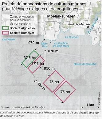 Algoculture vers la privatisation de 20 000 ha sur la mer [07/10/15]