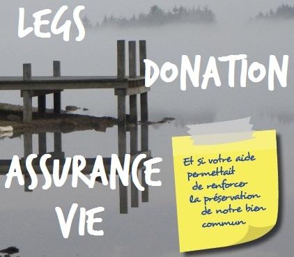 Legs, donation, assurance-vie