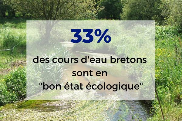La qualité des rivières bretonnes stagne toujours