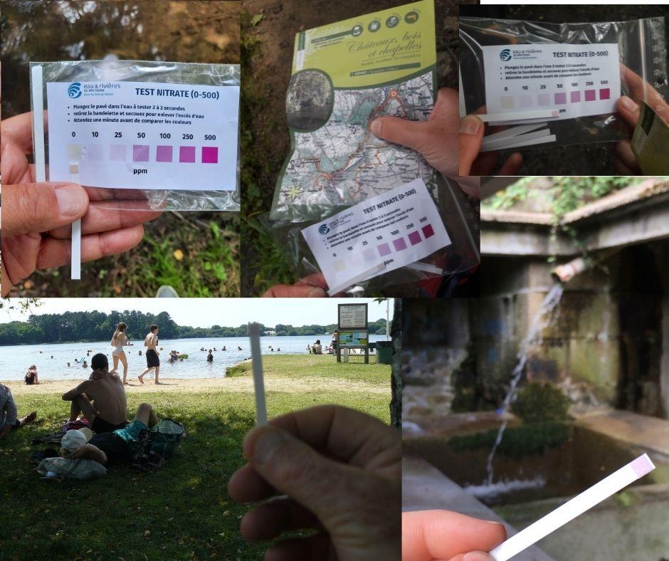 Stop marées vertes | La carte participative des taux de nitrates