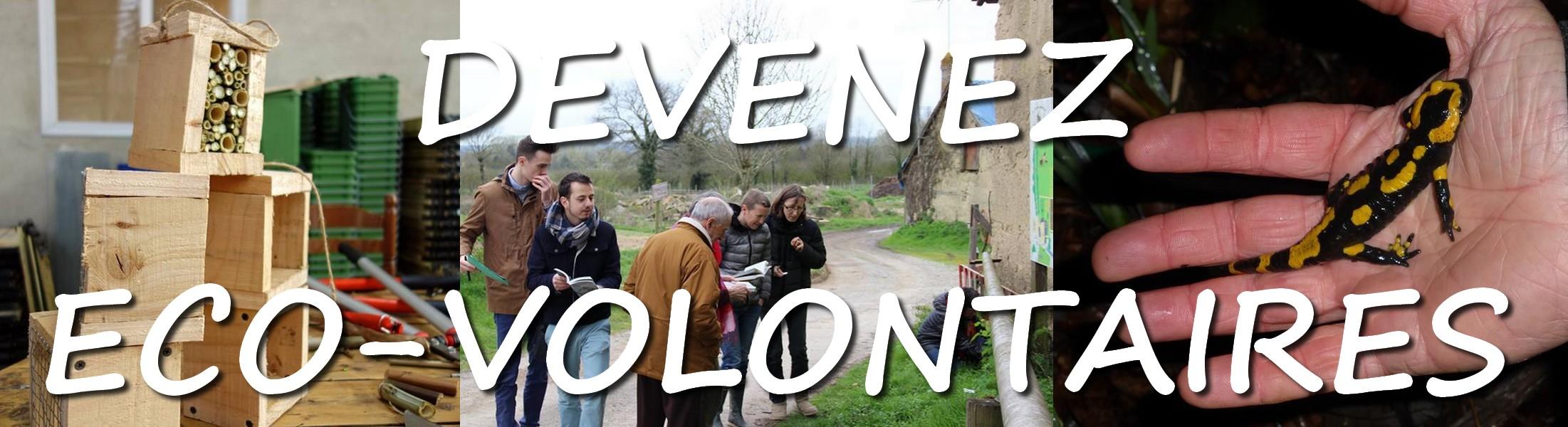 Le groupe d'Ecovolontaire du Pays de Rennes