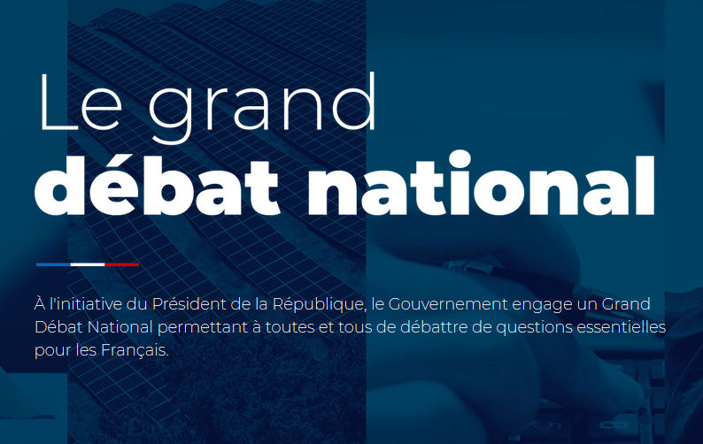 Grand débat : notre contribution, nos propositions