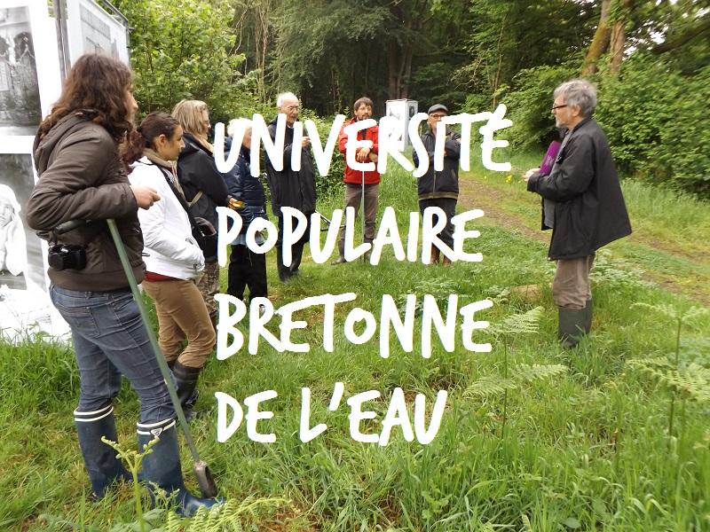 L'université populaire bretonne de l'eau