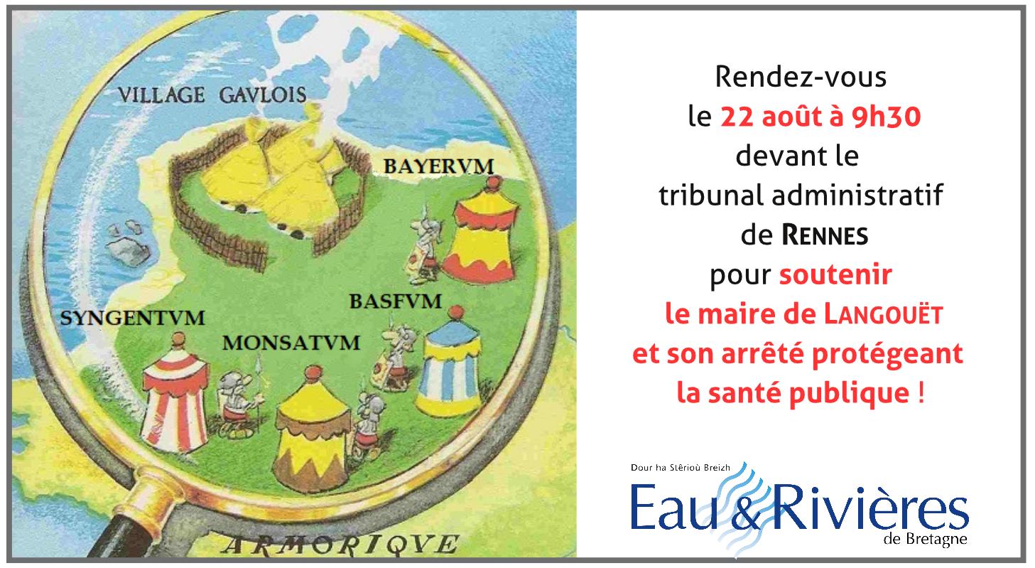 Soutenons le maire de Langouët et son arrêté protégeant la santé publique