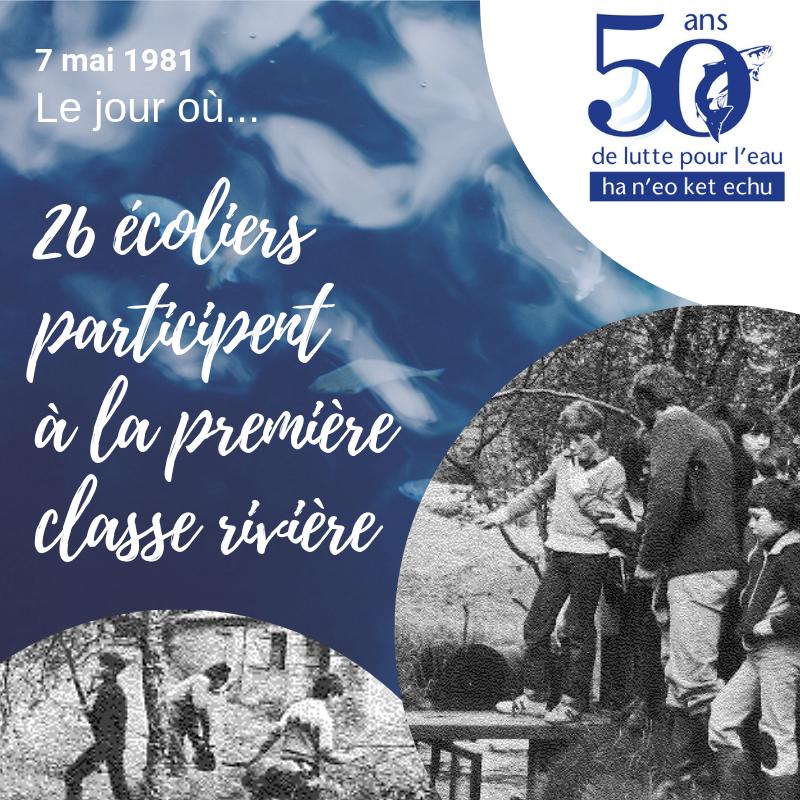 4 mai 1981 | Le jour de la première classe rivière