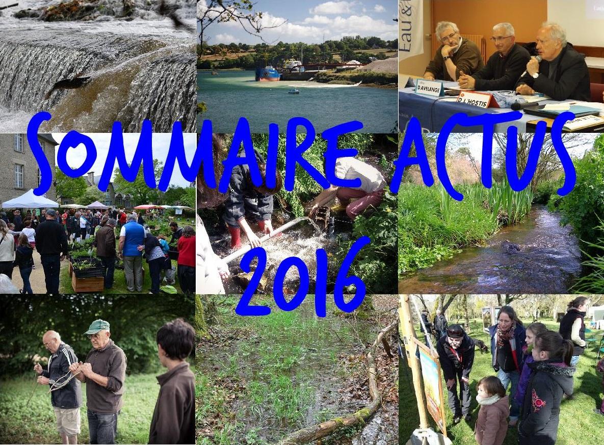 Sommaire actus 2016