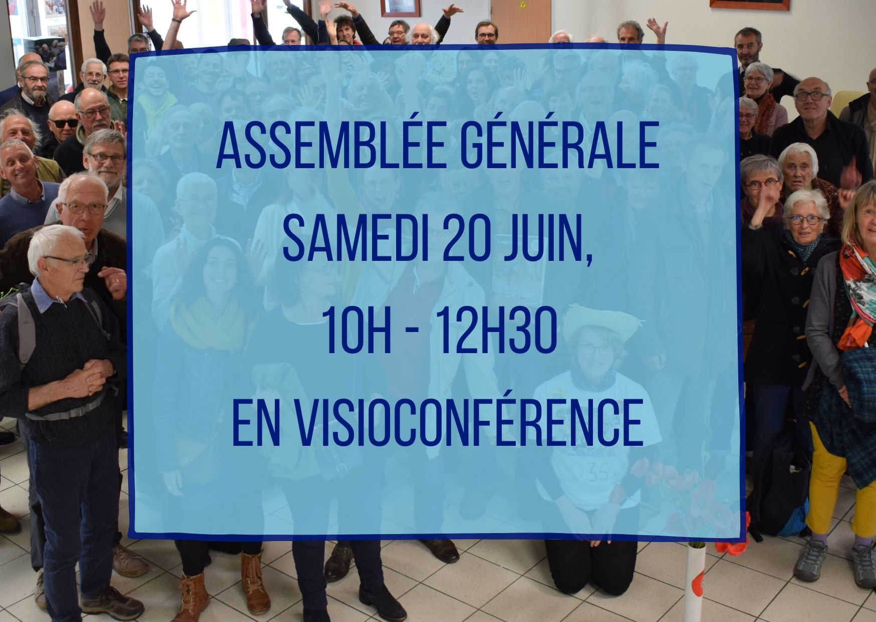 Adhérents, participez à l'assemblée générale
