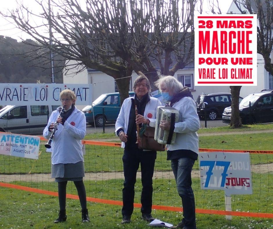 Photos | Retour sur les marches pour une vraie loi climat