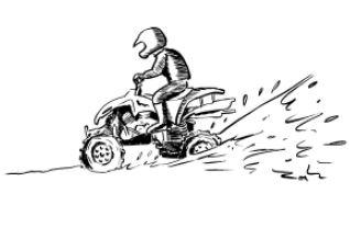 Circulation d'engins motorisés (quads, 2 roues, 4x4) en dehors des voies ouvertes à la circulation - Fiche 13