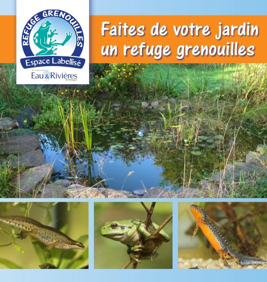 plaquette refuge grenouille